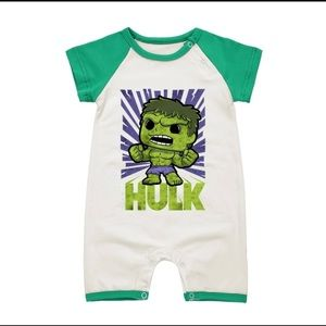 Other - Baby romper the Incredible Hulk Baby clothes
